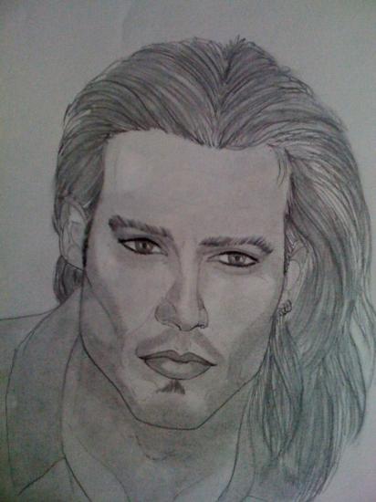 Johnny Depp par mag.